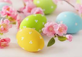 pastel easter eggs easter eggs flowers delicate pastel easter eggs flower hd wallpaper