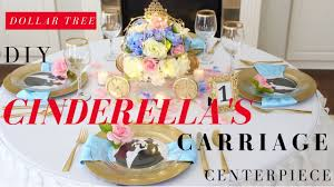 carriage centerpiece diy cinderella s carriage centerpiece diy disney princess