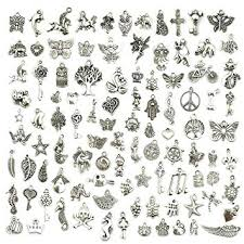 necklace charms wholesale images Wholesale bulk lots jewelry making silver charms mixed jpg