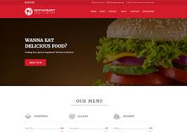 restaurant responsive website templates free download ease template