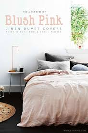 blush duvet cover top and best duvet design ideas