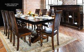 tuscan dining room tables tuscan dining room furniture classic set thesoundlapse com