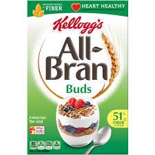 Breakfast Food Cereal Walmart Com by Kellogg U0027s All Bran Branbuds Cereal 17 7 Oz Box Walmart Com