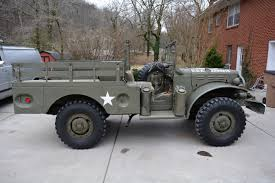 1945 dodge wc52 us army 12v original restored turn key driver