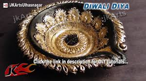Diwali Decoration Ideas For Home Diwali Diya Color And Decoration Ideas Jk Craft Ideas 056 Youtube