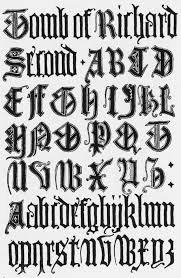 calligraphy fonts medieval name frank chouteau brown 15th