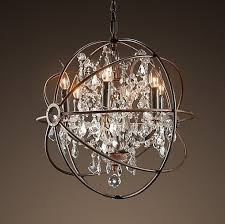 Big Chandeliers For Sale Double Ball Sphere Raindrop Clear Crystal Ceiling Light Chandelier