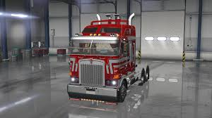 kw trucks update kenworth k200 v13 truck american truck simulator mod