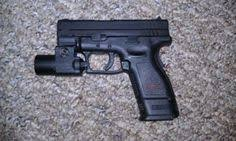 springfield xd tactical light love my springfield xd 9mm subcompact with my tac light loading that