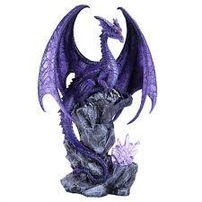 hoarfrost dragon light by ruth thompson 18 inch statue fantasy art