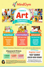 8 best photos of art workshop flyer art class workshop flyer
