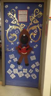 pictures of christmas office door decorating ideas minion