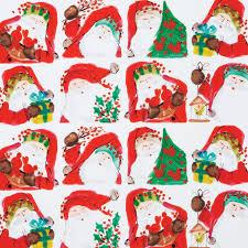 christmas gift wrap rolls st nick santa gift wrap roll vietri