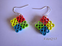 quilling earrings images fah creations paper quilling earrings