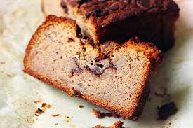 banana chocolate chip pound cake krafted by kelly