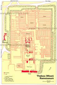 14 top tourist attractions in luxor easy day trips planetware thebes ramesseum floor plan map