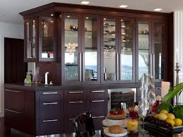 creative corner kitchen hutch furniture with cabinet section for