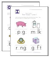 short vowel worksheets for kids all kids network