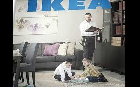 ikea issues catalog for haredim with no photos of women the