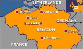 belgium language map languages languages
