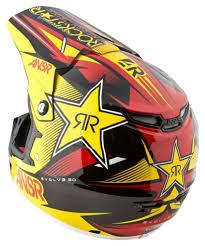 rockstar motocross goggles evolve 2 0 rockstar vii mens motocross helmet