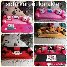 Sofa Bed Anak Murah Sofa Bed Murah Di Lampung Kasur Lipat Tiga Endis Karpet