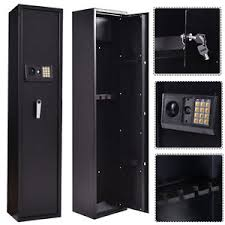 storage cabinet with electronic lock new 5 rifle electronic lock gun storage safe cabinet firearm steel