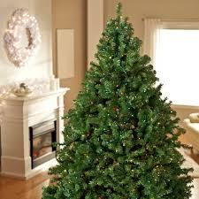classic pine pre lit tree walmart