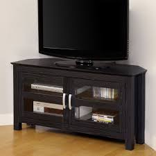 Corner Tv Cabinet For Flat Screens Best 25 Black Corner Tv Stand Ideas On Pinterest Tv Stand