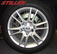 nissan altima coupe brake pads stillen big brake kit for the 07 08 altima coupe u0026 sedan stillen