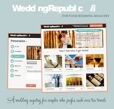 can you do wedding registry online wedding republic ruffled
