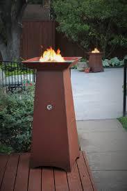 Propane Tank Fire Pit Cor Ten Steel Fire Pit Gas Fire Pit Hidden Tank Fire Pit