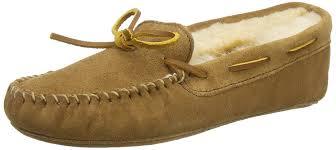 minnetonka sheepskin softsole moc women u0027s low top slippers shoes