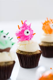 diy truffle monster cupcake toppers sugar u0026 cloth