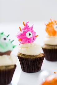 Halloween Cake Toppers Diy Truffle Monster Cupcake Toppers Sugar U0026 Cloth