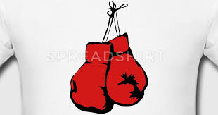 hanging boxing gloves t shirt spreadshirt
