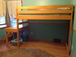 Make Loft Bed With Desk by How To Build A Loft Bed With Stairs Diy Projects For Everyone