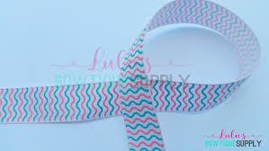 mermaid ribbon printed ribbon 7 8 grosgrain ribbon ribbon by the yard wave