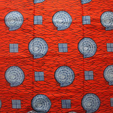 red and blue snail african print by the yard urbanstax