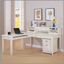 White Office Desk With Hutch Best 25 L Shaped Desk Ideas On Pinterest Office Desks Wood