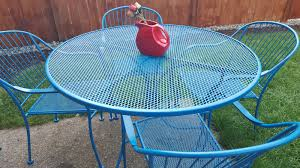 How To Paint Wrought Iron Patio Furniture by How To Refinish Wrought Iron Patio Furniture So Much To Make