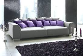 big couch sectional sofa decorating idea fluffy pillows blue show