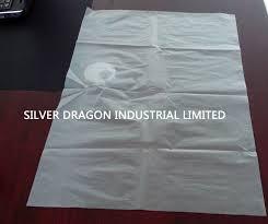 large plastic bags transparent non printing size 132cm x 275cm