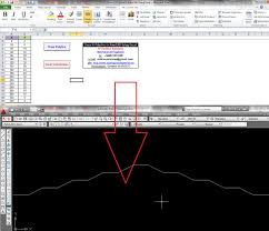 draw a polyline in autocad using excel vba my engineering world
