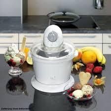 cuisine bomann sorbetière 15 watt crème glacée machine à glace appareil cuisine