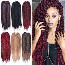 mambo hair twist 24 inch 5 color havana mambo twist crochet braids hair synthetic