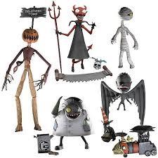 nightmare before figures series 4 set neca