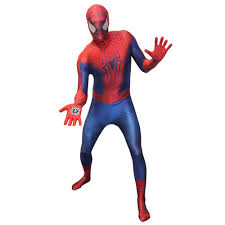 spiderman halloween costumes morphsuits amazing spider man 2 digital fancy dress costume