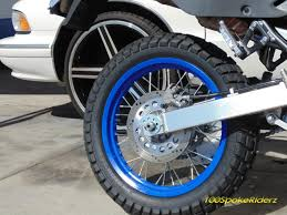 wheels motocross bikes plasti dip blaze blue on my motorcycle rims youtube