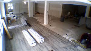 resista vinyl flooring install lapse